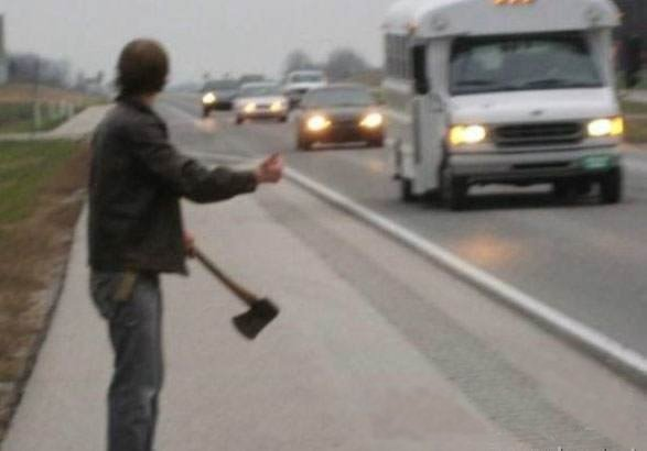 29ftobm - would you pick up this hitchhiker?