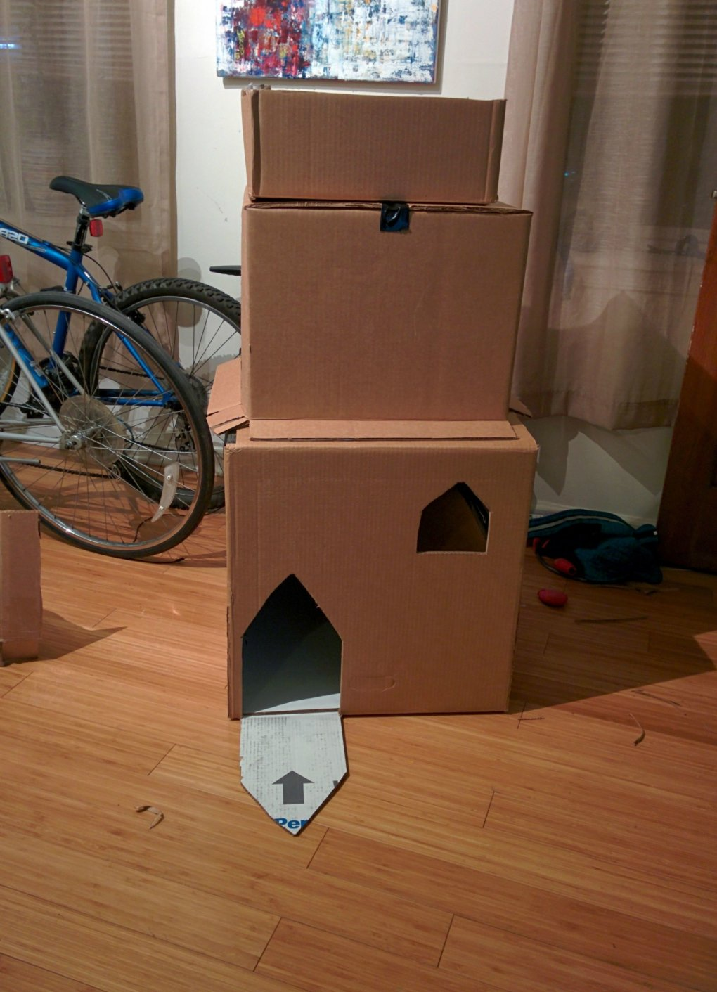 2koaqvy - why don't we build cardboard castle to our cats? this is how to do it.