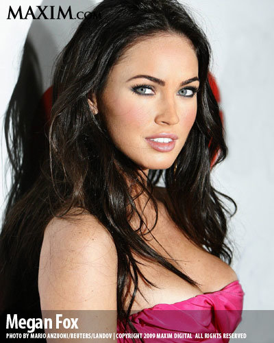 2 meganfox hot100 l - maxim's 100 hottest girls of 2009