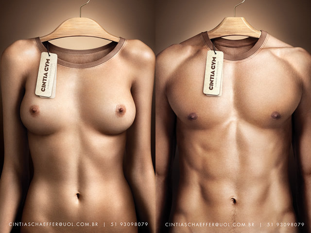 2o8 - shirts which look like naked body