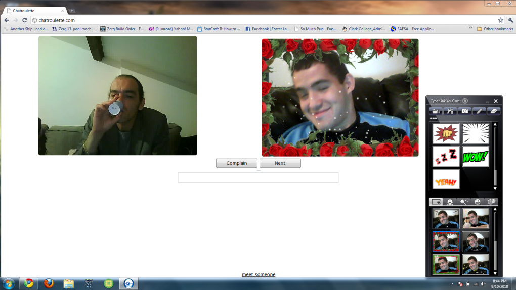 3 - best chatroulette picture's ever!!! new pictures edited 9/11/10 8:40pm