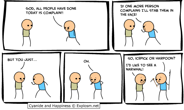 3 - cyanide and happiness, fails, and motivationals!!
