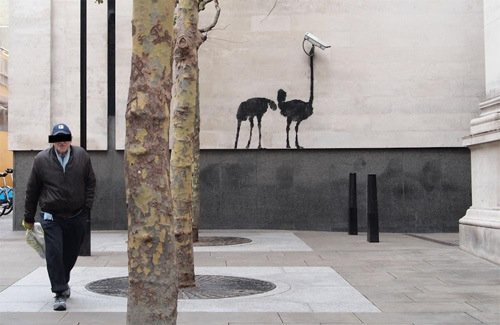 3 - the return of the banksy! - graffiti / art.