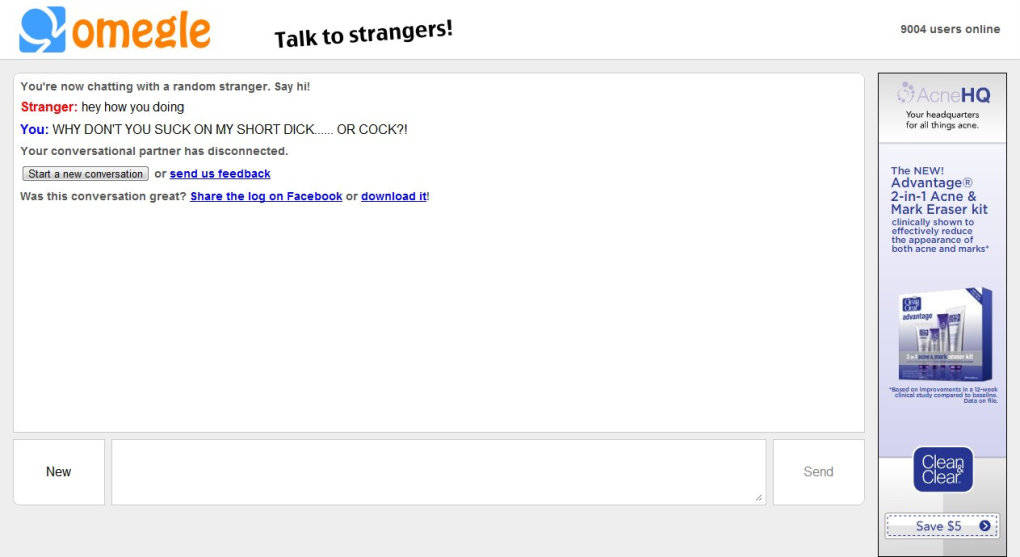 3 - why do i have such a hard time on omegle??