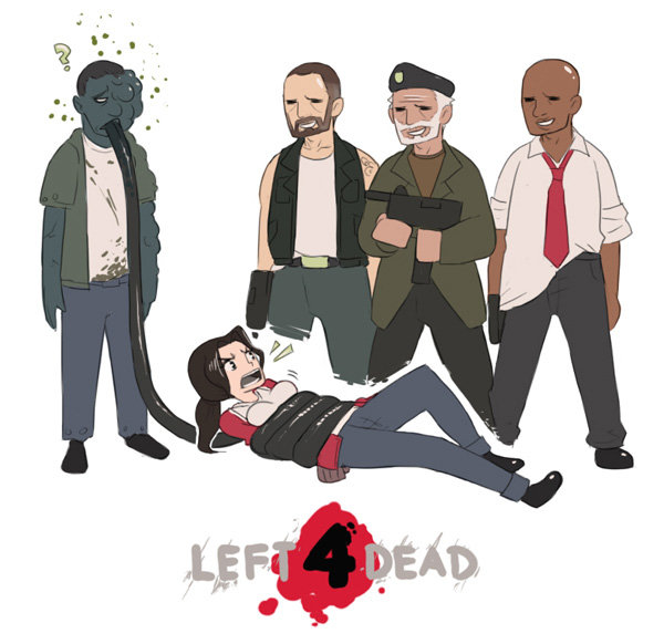 3497 - re: what left for dead has taught many people comics x)