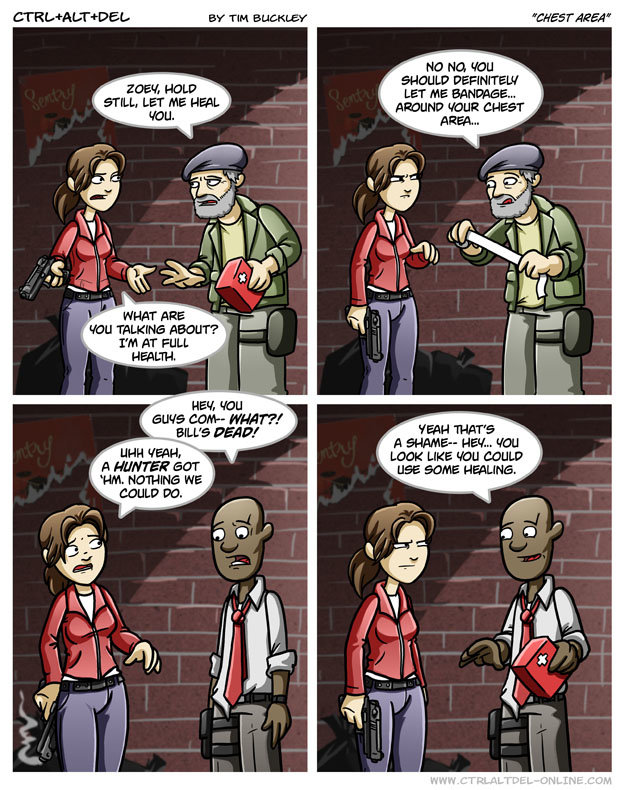 3498 - re: what left for dead has taught many people comics x)