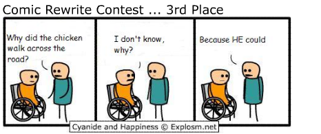 3 chickenjoke1 - my first post random cyanide and happiness sorry for any reposts