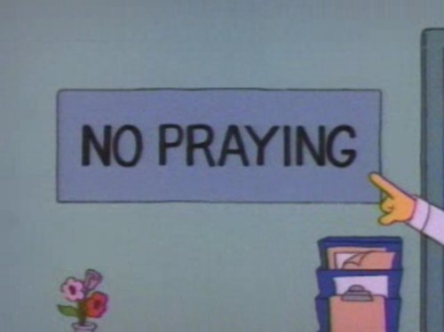 4255343878 - funny signs from the simpsons
