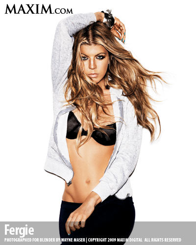 45 fergie hot100 l - maxim's 100 hottest girls of 2009