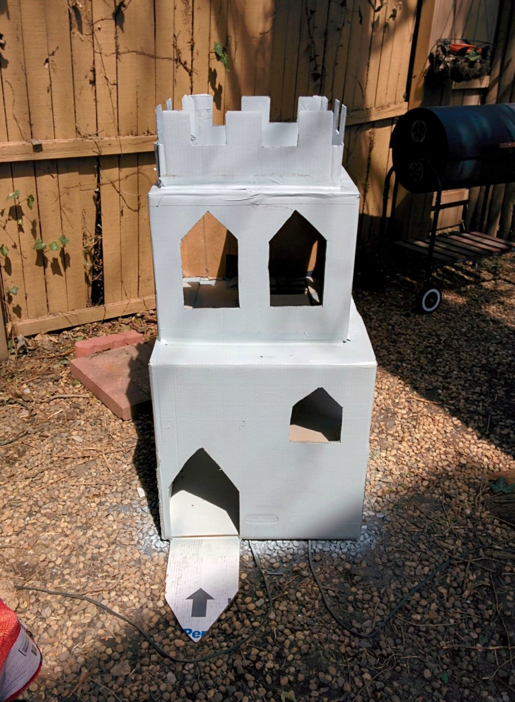 46jjwk9 - why don't we build cardboard castle to our cats? this is how to do it.