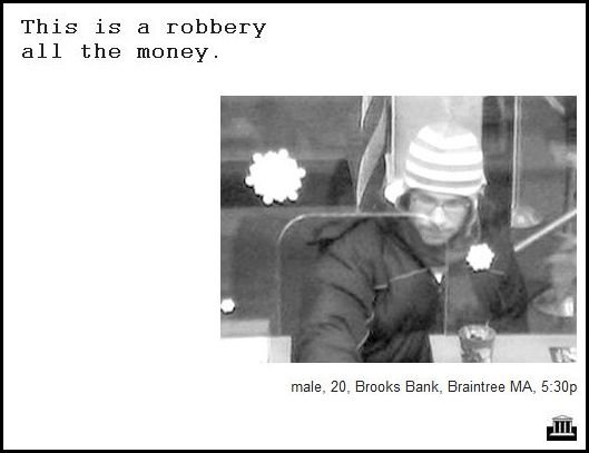 47 - demand notes from real bank robbers