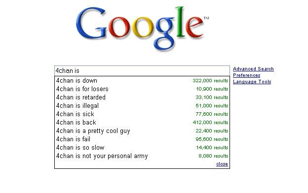 4chan - 4chan is...