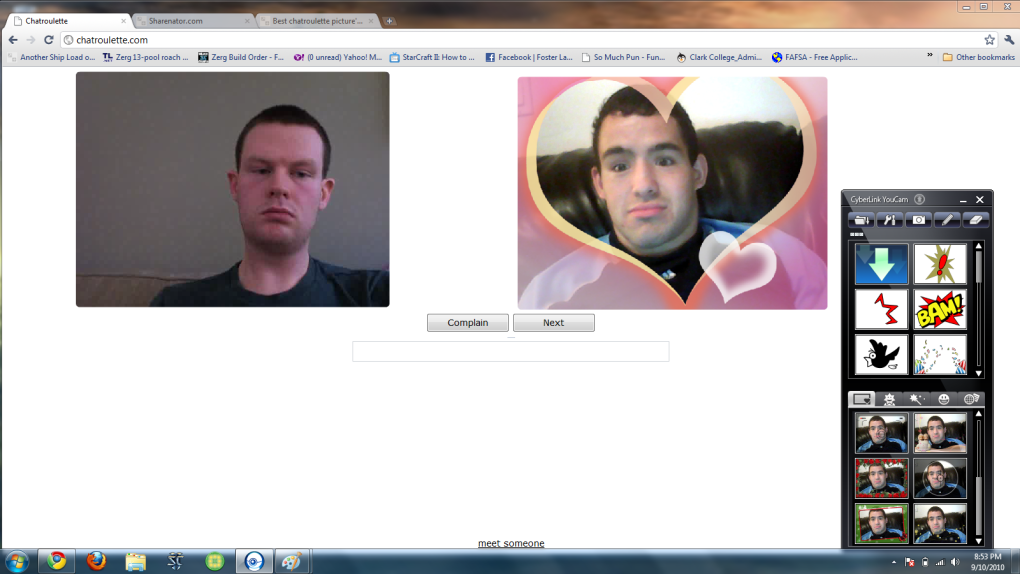 5 - best chatroulette picture's ever!!! new pictures edited 9/11/10 8:40pm