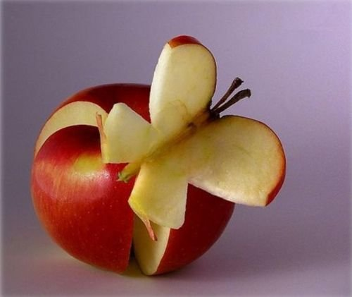 5 - fruit sculptures