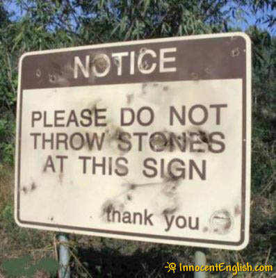 5 - funny signs and warnings