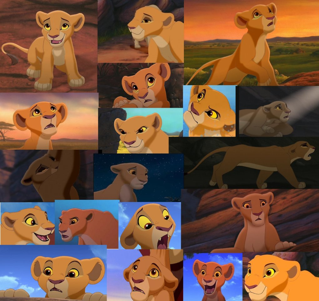 5 - princess kiara from the lion king 2 simba's pride