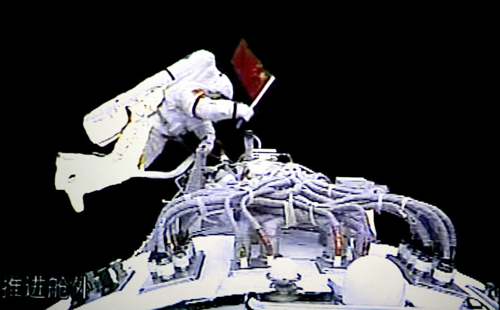55x4sg3 - china's manned space program