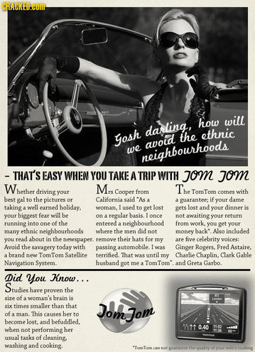 60782 slide - old time adds for modern products