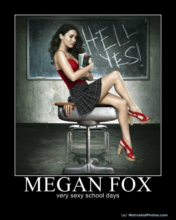 633881699780785870 meganfox - epic motis part#4: school days