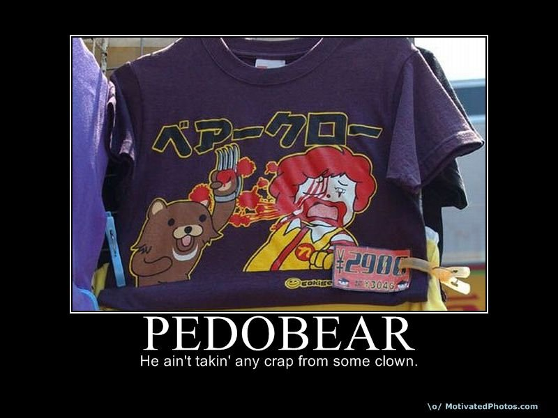 633954164769403275 pedobear - epic motis part#3: pedobear time!