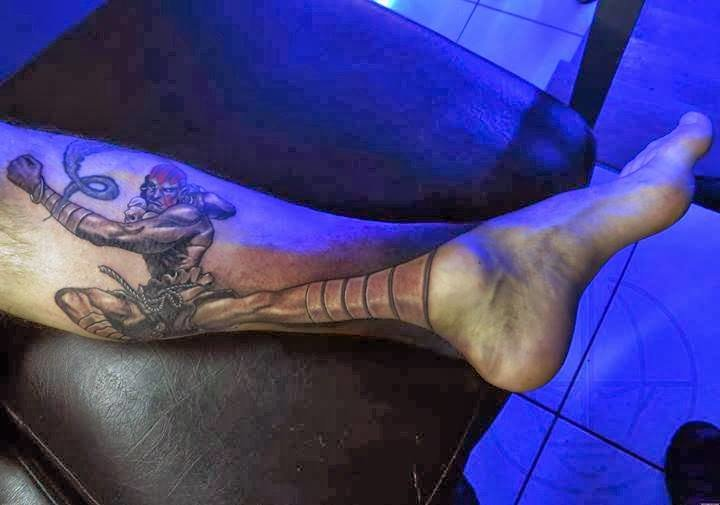 6ruoumi - street fighter ii perspective tattoos