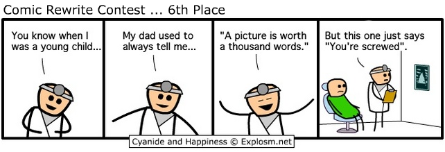 6 xray - i have found more cyanide & happiness!!