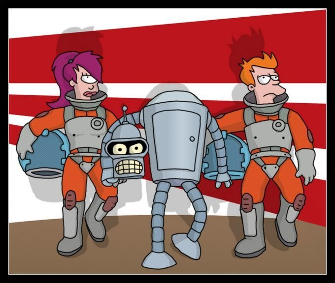 6f - futurama fan art