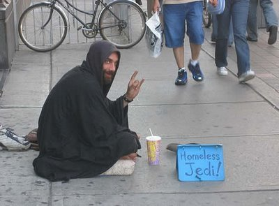 7 - homeless people with funny signs