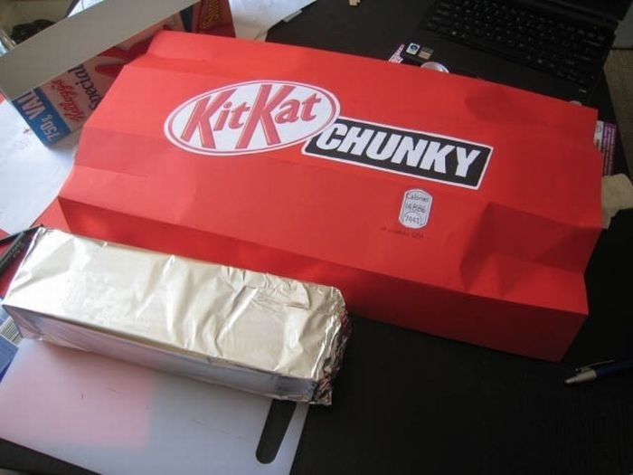 7 - the making of a huge kit kat