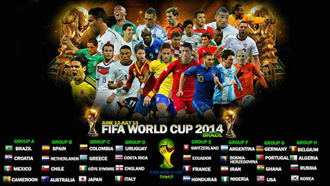 fifa world cup group stages draw