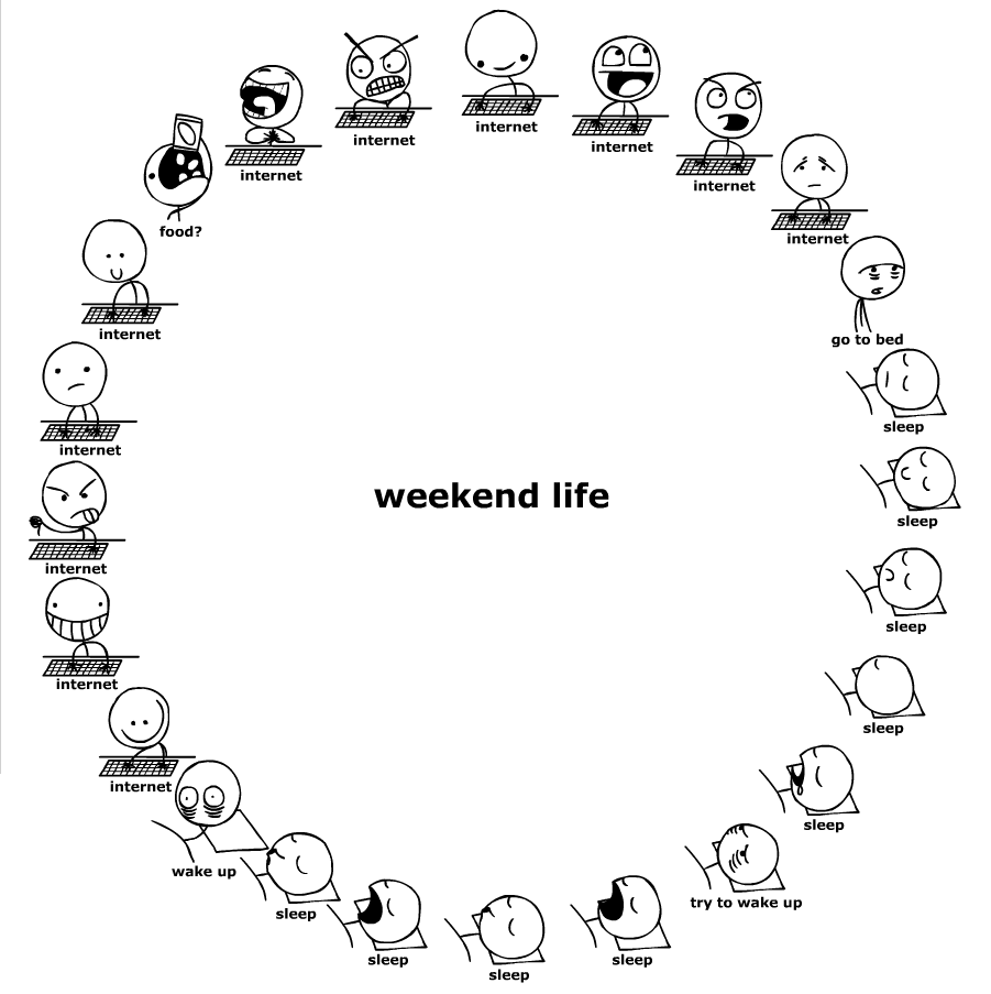 75d6a3344512 - lets not lie, who else's weekend is exactly like this?
