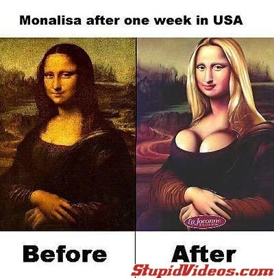 77704 m769 1 - the mona lisa after one week in the usa