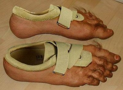 79740396 - funny/crazy/scary shoes
