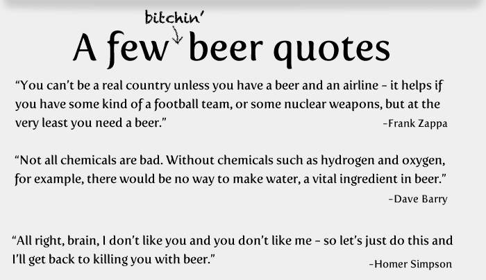 8 - 20 things worth knowing about beer!