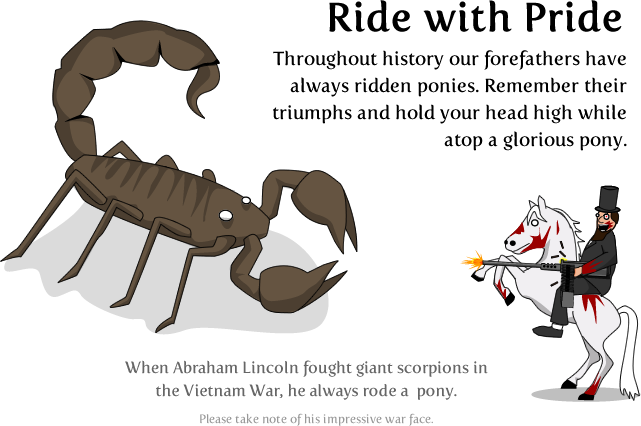 8 - how to ride a pony