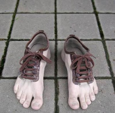 87801207 - funny/crazy/scary shoes
