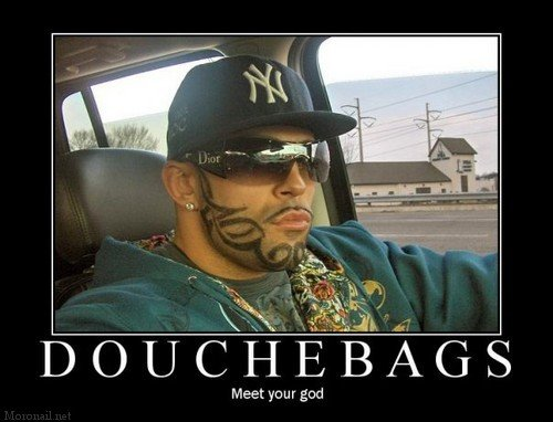895 - the god of douchebags