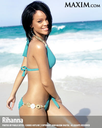 8 rihanna hot100 l - maxim's 100 hottest girls of 2009