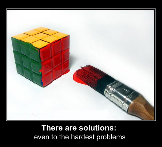 8p - there are solutions: even to the hardest problems