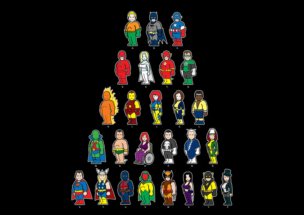 a zsuperheroes3 1 2011 2 - awesome t-shirt prints