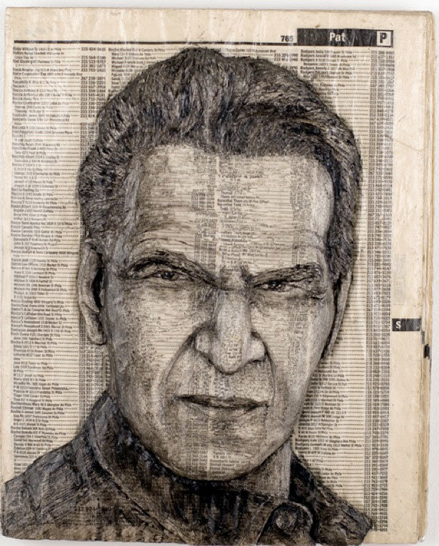 alexqueral9 - unbelievable celebrity phone book carvings
