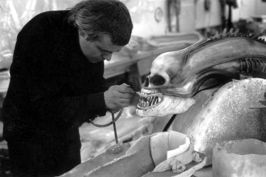 alien - that's a cool set of old horror movie pics made behind the scenes