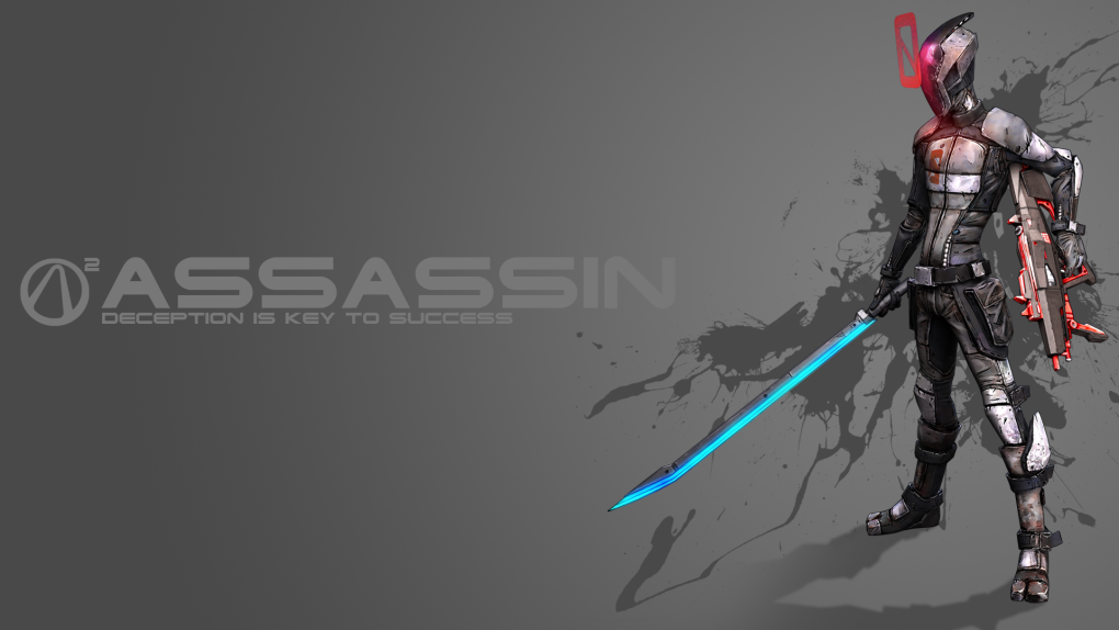 assasin - awesome borderlands 2 wallpapers