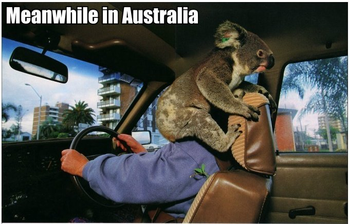 australia - meanwhile in ...