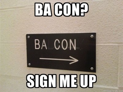 bacon - my first funnies