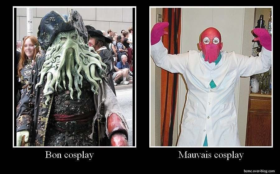 bcmctentacules - good cosplay / bad cosplay