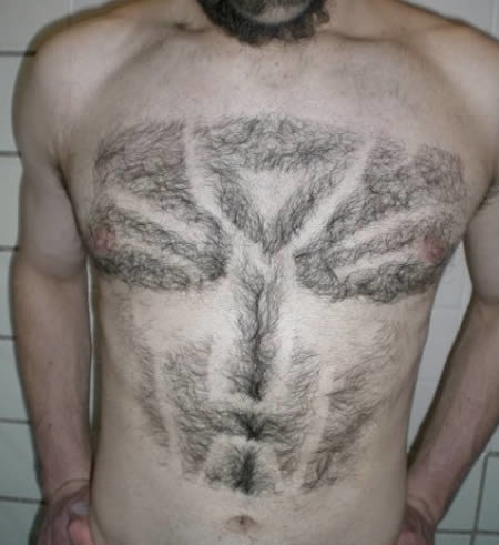 bs1 - designs shaved in body hair