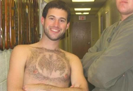 bs9 - designs shaved in body hair