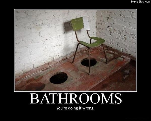 bathrooms - best motivational posters