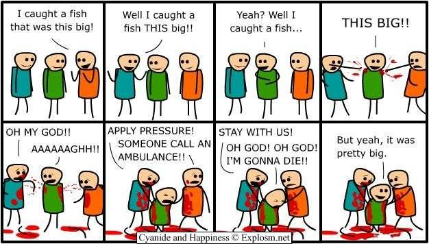 ch8 - 15 cyanide and happiness comics, my sincerest apologies for any reposts